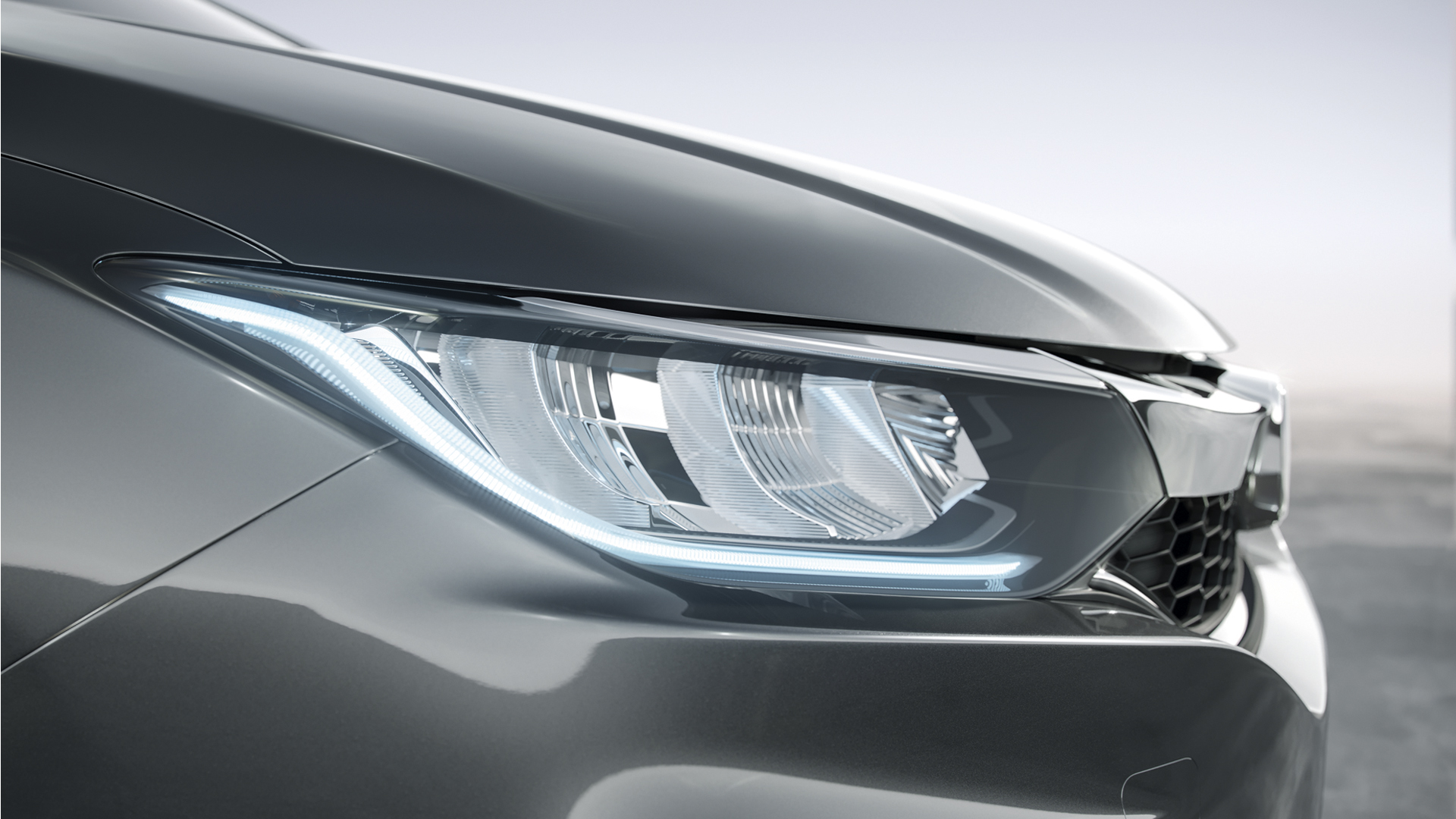 Honda City - Faróis LED