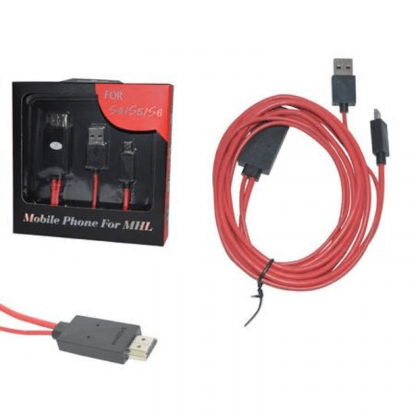 Adaptador Conversor De Video Micro USB Mhl Para HDMI
