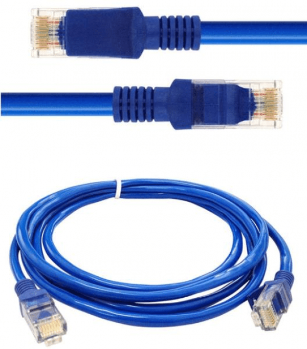 Cabo Lan (Rede) Patch Cord Cat5E (1 Metro)