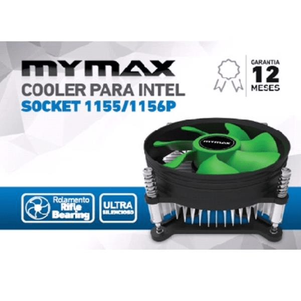 Cooler de Proc LGA Intel 1155 1156  1150 Mymax