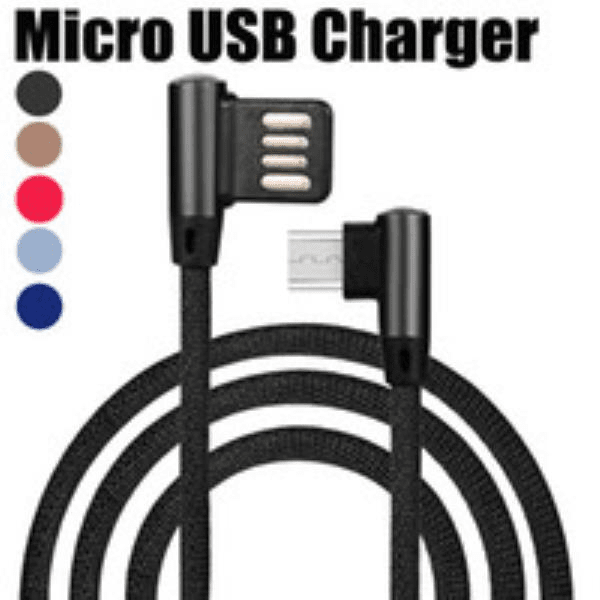 Cabo USB P/ Celular V8 1,2 Mts Color 90 Grau