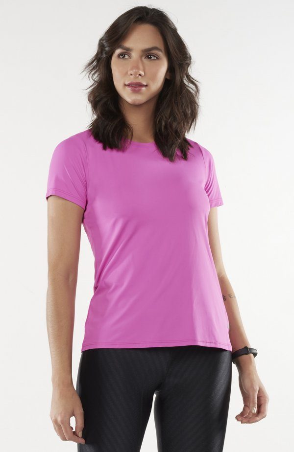 T-Shirt Skin Fit Rolete Costas