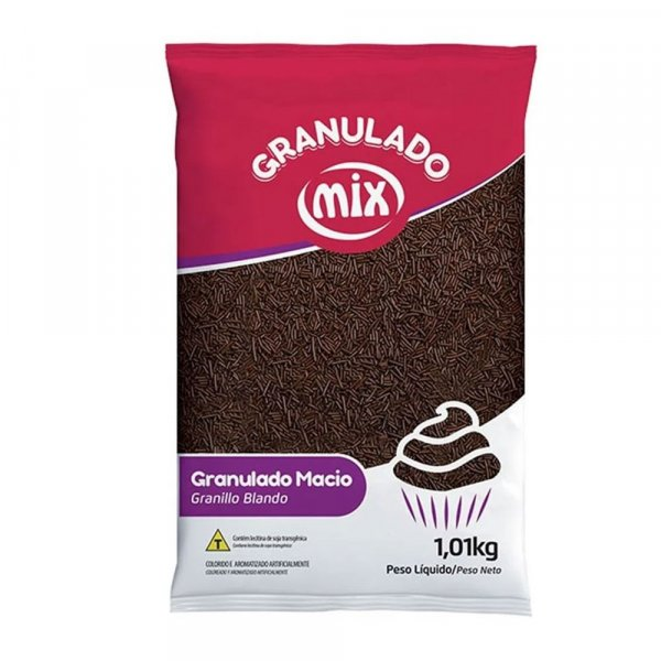 Granulado Macio sabor Chocolate 1,01kg - MIx