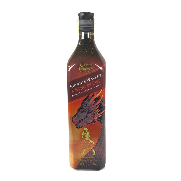 Whisky Johnnie Walker - A Song Of Fire 750ml